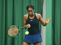 Rotterdam, The Netherlands, March 11, 2016,  TV Victoria, , NOJK 12/16 years, Sylvia Okafor Photo: Tennisimages/Henk Koster